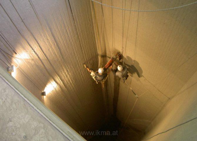 Industrieklettern im Bild 239